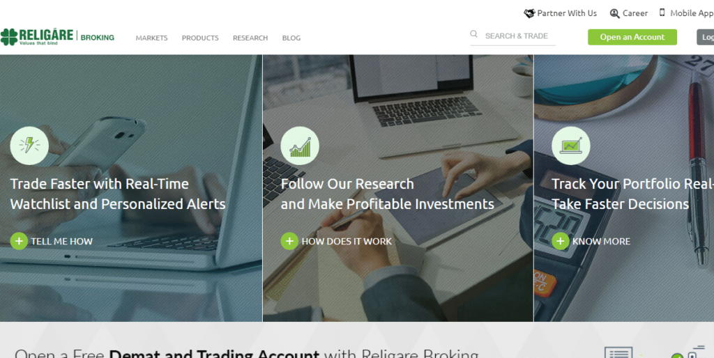 Religare Securities Demat Account Analysis